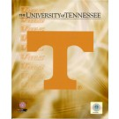 "Tennessee Volunteers Power T Logo 8"" x 10"" NCAA Photo"