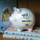 Nashville Predators Piggy Bank