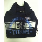 "Tennessee Titans Women's NFL Hoodie ""Old School"""