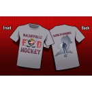 Nashville Fire Department Hockey Short Sleeve Tshirt
