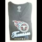 "Tennessee Titans Womens '47 T-shirt "" Flanker V-neck"""