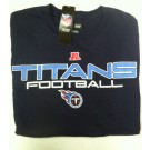 "Tennessee Titan's NFL TEAM APPAREL Long Sleeve T-shirt "" Receiver """