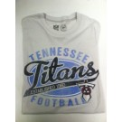"Tennessee Titan's '47 Gray T-shirt "" The Fade Tee"""