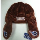 "Tennessee Titan's Leather Style Helmet "" Old School "" Forever Collectibles"