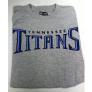 Tennessee Titans NFL TEAM APPAREL Gray T-SHIRT