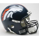 Denver Broncos NFL Riddell Speed Mini Helmet