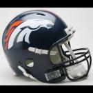 Denver Broncos NFL Riddell Speed Mini Helmet