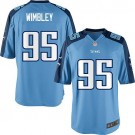 Tennessee Titans Nike Kamerion Wimbley Youth Game Jersey - Light Blue